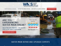 Watermainservices.ca - Water Service Upgrades, Lead Pipe Replacements & Water Mains Break Repairs