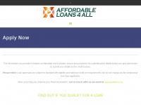 Affordableloans4all.co.za - Apply Now - Affordable Loans 4 All