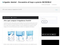 irrigador-dental.es Thumbnail