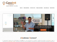 GeoINT - Research website