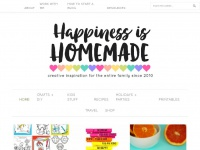 Happinessishomemade.net - Happiness is Homemade - Quick and Easy Crafts, Recipes + Creative Fun for the Entire Family!