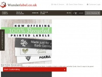 Wunderlabel.co.uk - Custom Woven Name & Clothes Labels UK | Personalised for Clothing