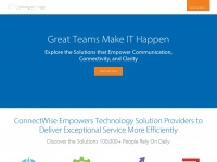 Connectwise.com - ConnectWise Business Software for Technology Providers