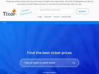 Find, Compare and Order concert and events tickets - Tixor.net