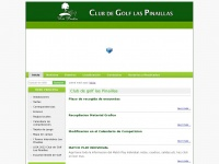 Club Golf las Pinaillas — Club de golf las Pinaillas