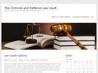 Tribetraining.net - The Criminal and Defense Law Vault - All the Resources and Information You Could Ever Need