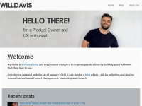 Wdavis.me - William Davis - UX Product Manager