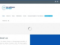 Taxadviserseurope.org - Tax Advisers Europe