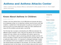 Orle.info - Asthma and Asthma Attacks Center – Asthma (reactive airway disease) affects an estimated 34 million people in the U.S. Find in-depth asthma information,