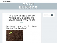 Acaiberryx.co.uk - Acai berryx