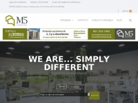M5inmobiliaria.es - Agencia Inmobiliaria | We are... simply different