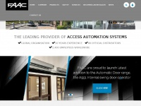 Faac.co.uk - Driveway Gates, Electric Gates, Automatic Door