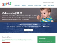Espes.eu - ESPES - European Society of Paediatric Endoscopic Surgeons