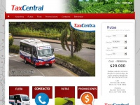 Taxcentral.com.co - Tax Central - Transporte - Cali - Pereira Inicio