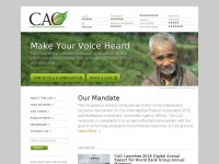 Cao-ombudsman.org - Office of the Compliance Advisor/Ombudsman