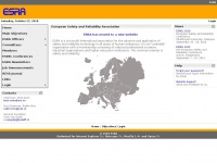 Esrahomepage.org - ESRA - European Safety and Reliability Association