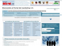 MarketingData-Red - El Portal del marketing, publicidad, promocion y medios. Buscador de proveedores de productos y servicios de marketing