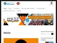 oacep.pedagogica.edu.co Thumbnail
