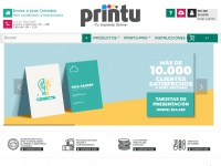 Printu.co - Imprenta online Colombia, impresión digital a domicilio