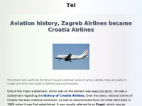 Tel.hr - Aviation History and Croatia Airlines, etc - Home - Tel