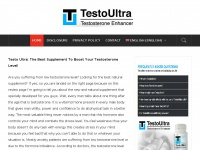 Testoultra.cc - Website with the best information for health & fitness