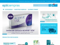 Opticompras, Comprar Lentillas Online: Acuvue Online, Johnson & Jhonson, Bausch and Lomb, etc - Opticompras
