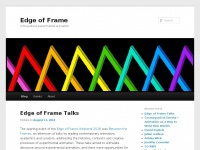 Edgeofframe.co.uk - Edge of Frame | A blog about experimental animation
