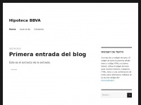 hipotecabbva.wordpress.com
