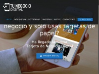 Mybusinessinfo.net - Tu Negocio Digital – TARJETA DIGITAL, MULTIPLES DISPOSITIVOS, TOTALMENTE ADAPTABLE PARA CADA PANTALLA