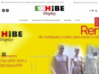 exhibedisplay.com.mx