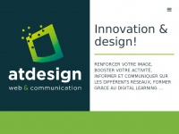 Atdesign.be - Agence Web & Communication Création graphique Site internet E-learning