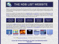 Ndblist.info - The NDB List Information Page