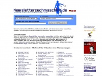 Newslettersuchmaschine.de - Newslettersuchmaschine - Newsletter Verzeichnis - Newsletterverzeichnis - Newsletter Suchmaschine - Kostenlose Newsletter - Newsletter search engine and directory
