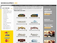 Wowgoldprice.org - Buy WOW Gold, Warcraft Gold, World of Warcraft Gold, FFXI Gil, Final Fantasy XI Gil, Lineage 2 Adena