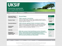 Uksif.org - UKSIF - The UK Sustainable Investment and Finance Association