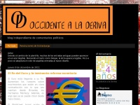 Occidente a la Deriva
