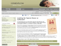 Coparents.com - Co-Parenting - Sperm Donation & FREE Sperm donors