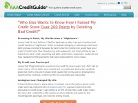 Aaacreditguide.com - Credit Repair - Your Guide to a Better Credit Score