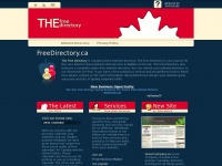 Freedirectory.ca - The Free Directory - Canada's Best Free Internet Web Directory
