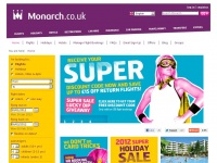 Monarch.co.uk - Monarch Flights & Holidays: Lowest Fares & Great Service - Monarch