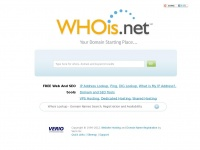 Whois Lookup & IP | Whois.net