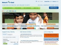 Networkforgood.org - Network for Good | Online Giving Made Easy