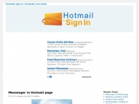 Hotmailhotmail.info - Sign in to Hotmail | Hotmail email sign in