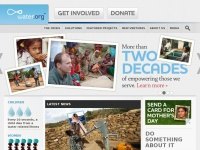 Water.org - Water Charity For Safe Water & Sanitation