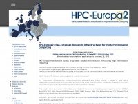 Hpc-europa.org - HPC-Europa2 Project | Access to some of Europe's biggest supercomputers | an I3 funded by the EU - DG Research