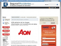 Seguros y Accidentes - Otro sitio realizado con WordPress
