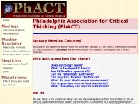 Phact.org - Philadelphia Association for Critical Thinking