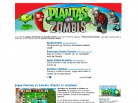 Juegosdeplantasvszombies.com - Juegos de Plantas vs Zombies (Plants and Zombies)