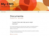 My CMS | Just another WordPress site