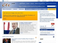 Eutrio.be - Belgian Presidency of the Council of the European Union